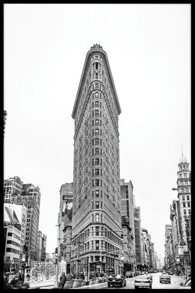 Flat Iron Building NYC Juliste