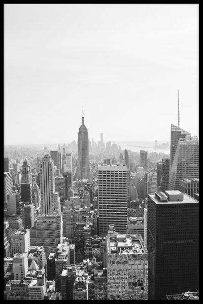 New York Skyline Juliste