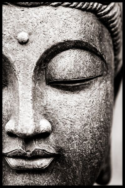 Buddha Close Up Juliste