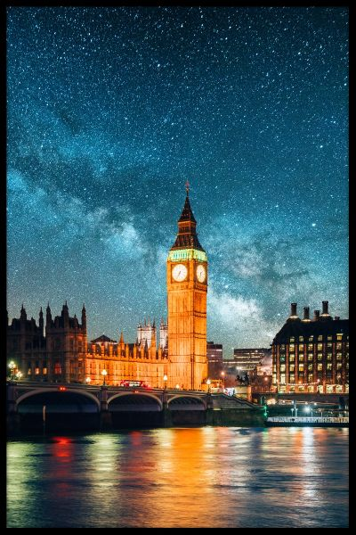 London Under The Stars Juliste