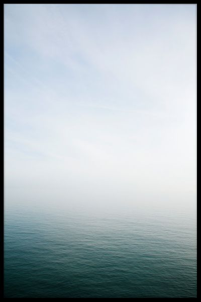 Misty Sea Horizon Juliste