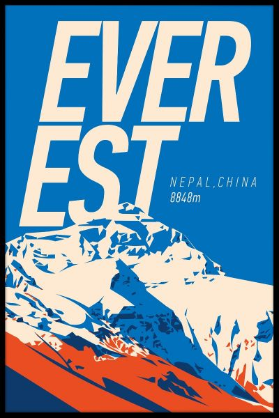 Everest Vintage Juliste