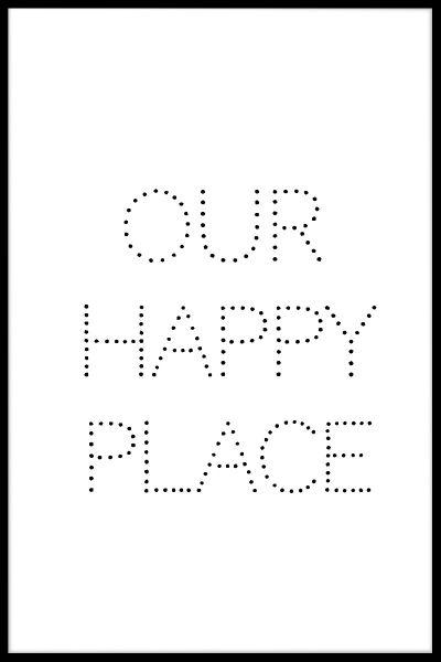 Our Happy Place N02 Juliste