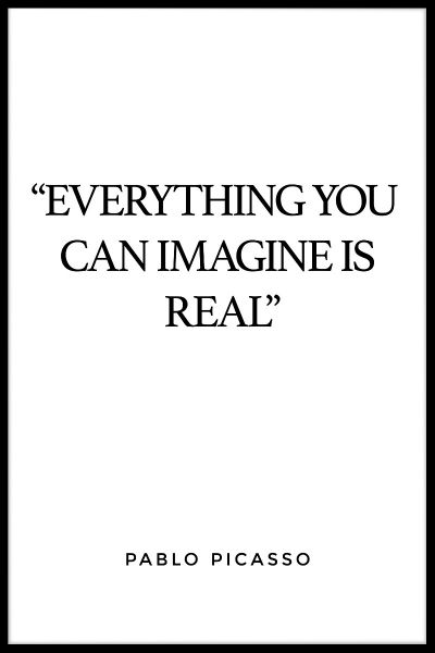 Everything You Can Imagine Juliste