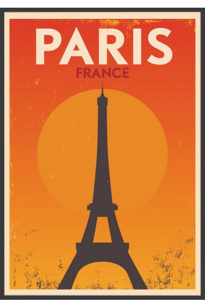 Paris Vintage Juliste