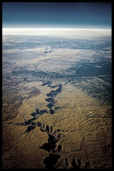 Grand Canyon Aerial Juliste
