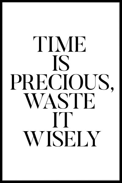 Waste It Wisely Juliste