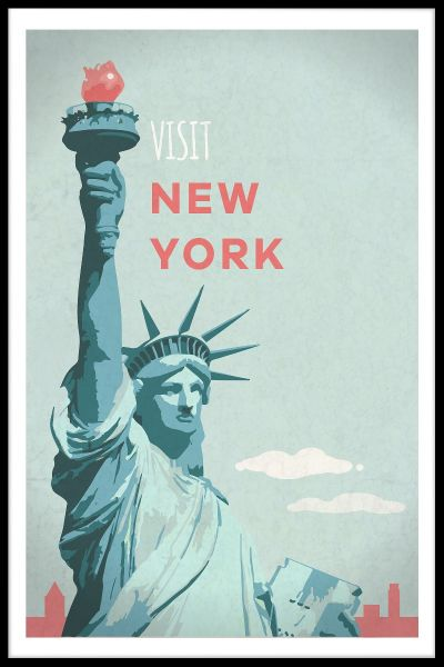 Visit New York Juliste
