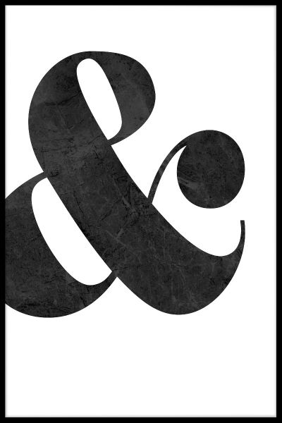 Ampersand Juliste