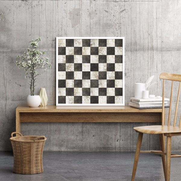 Checkers Tiles Printti