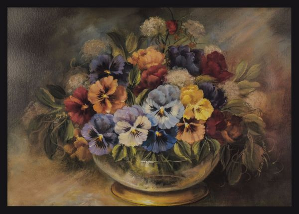 Flower Arrangement Oil Painting Juliste