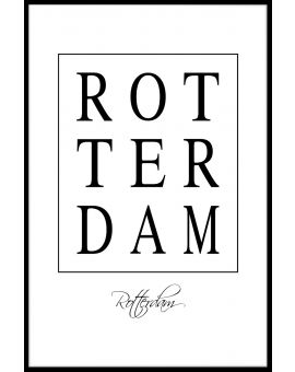 Rotterdam Box Text Juliste