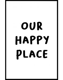 Our Happy Place Juliste