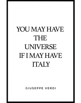 You May Have The Universe Juliste