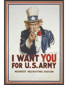 Uncle Sam Vintage Juliste