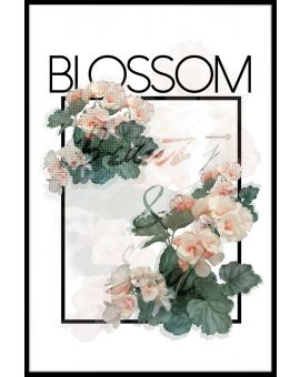Blossom Text Juliste