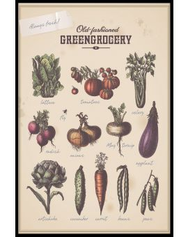 Greengrocery Juliste