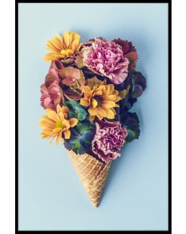 Flower Ice Cream Juliste