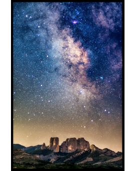 Milkyway Night Juliste