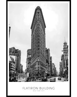Flatiron Building Juliste