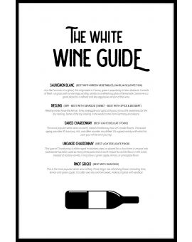 White Wine Guide Juliste