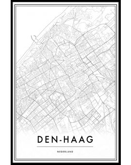 Den Haag Map Juliste