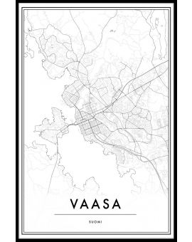 Vaasa Map Juliste