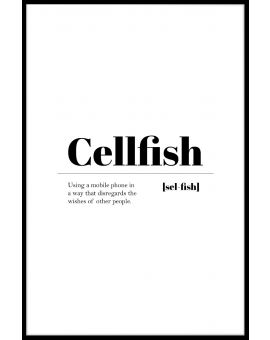 Cellfish Juliste