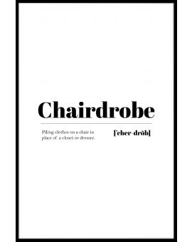 Chairdrobe Juliste