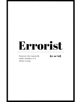 Errorist Juliste