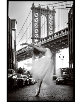 Brooklyn Ballerina Juliste