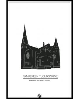 Tampere Cathedral Juliste