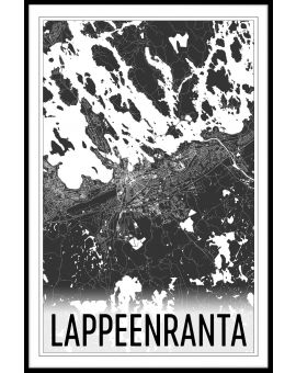 Lappeenranta Map Juliste