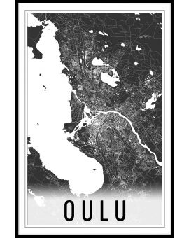 Oulu Map N02 Juliste