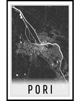 Pori Map N02 Juliste