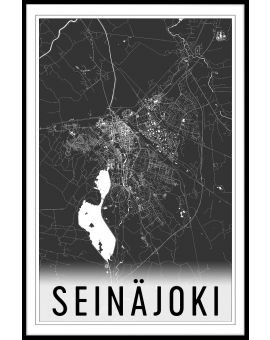 Seinäjoki Map Juliste