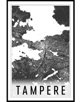 Tampere Map N02 Juliste