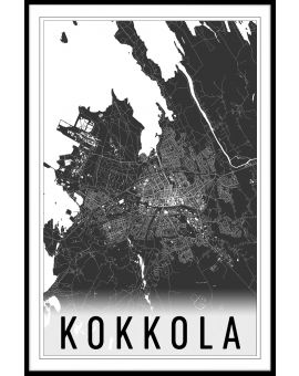 Kokkola Map Juliste