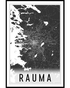 Rauma Map Juliste