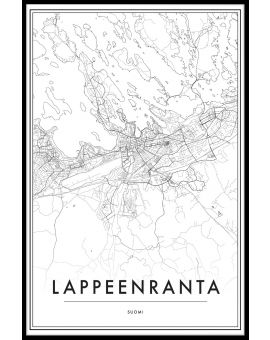 Lappeenranta Map N02 Juliste