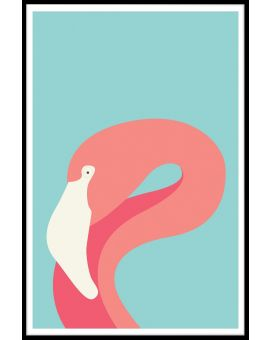 Flamingo Juliste