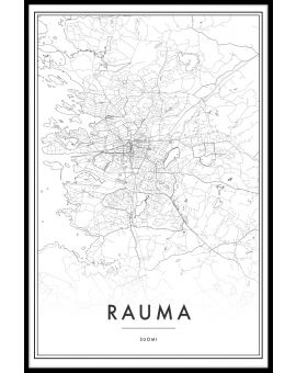 Rauma Map N02 Juliste