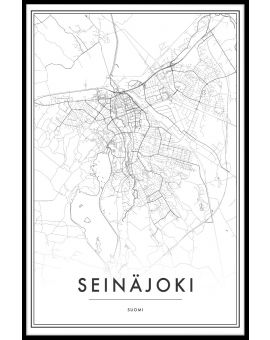 Seinäjoki Map N02 Juliste