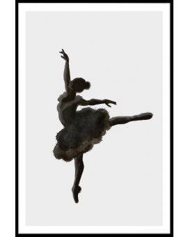 Ballerina Illustration Juliste