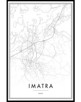 Imatra Map Juliste