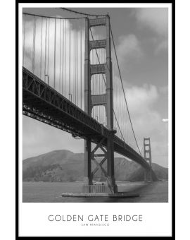Golden Gate Bridge Juliste