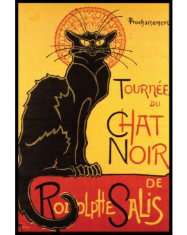 Chat Noir Vintage Juliste