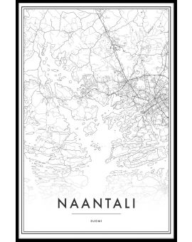Naantali Map Juliste