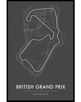 Silverstone British GP Juliste