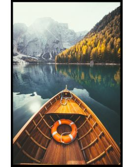 Braies Lake Dolomites Juliste